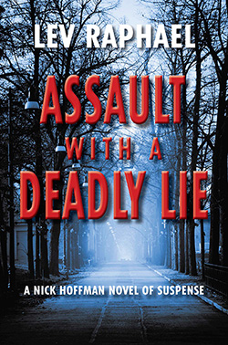 Assault with a Deadly Lie by Lev Raphael - cover