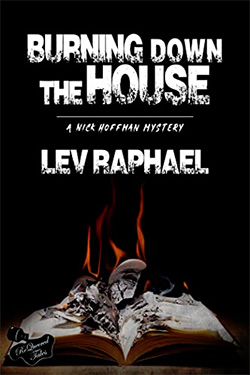 Burning Down the House by Lev Raphael - cover