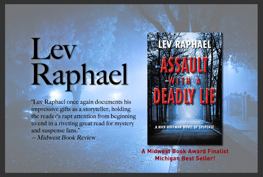 Lev Raphael - Author of ROSEDALE